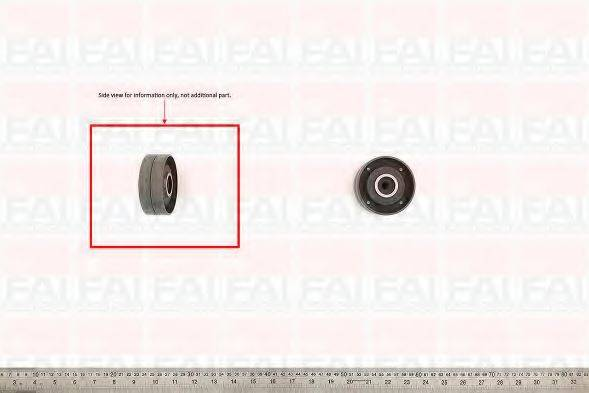 FAI AUTOPARTS T6910 Обводной ролик ремня ГРМ