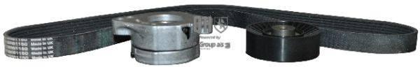 JP GROUP 1118112719 Поликлиновой ременный комплект