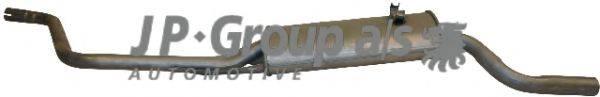 JP GROUP 1120606500 Глушитель выхлопных газов конечный