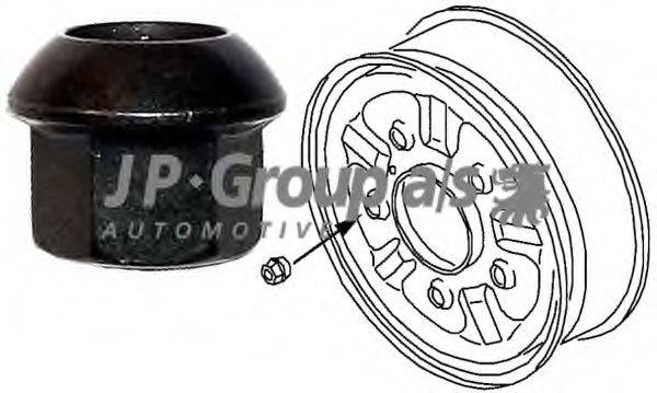 JP GROUP 1160400600 Гайка крепления колеса