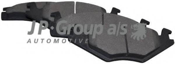 JP GROUP 1163600510 Тормозные колодки