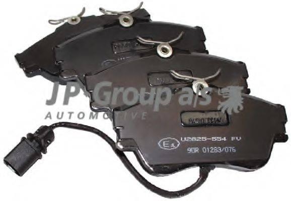 JP GROUP 1163603710 Тормозные колодки