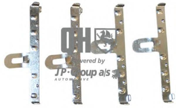 JP GROUP 1163650519 Комплектующие, колодки дискового тормоза