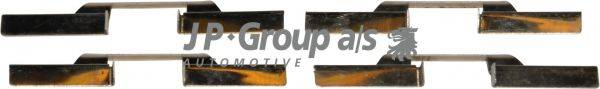 JP GROUP 1163650610 Комплектующие, колодки дискового тормоза