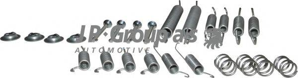 JP GROUP 1163950410 Комплектующие, тормозная колодка