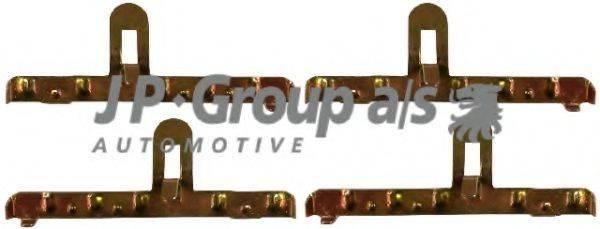 JP GROUP 1164000810 Комплектующие, тормозные колодки