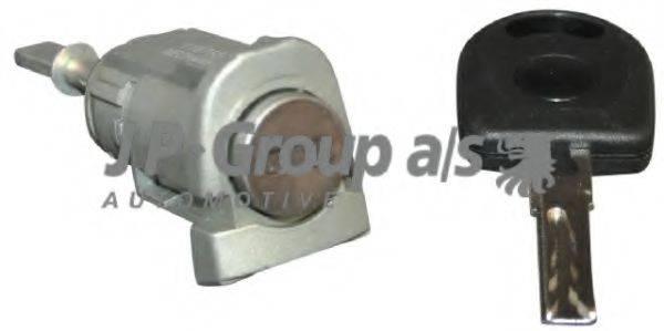 JP GROUP 1187550910 Комплект цилиндра замка