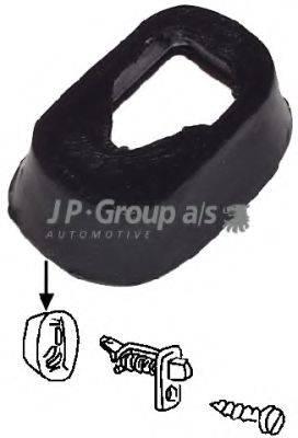 JP GROUP 8196550106 Прокладка, страховочная подсветка двери