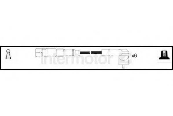 STANDARD 76208 Комплект проводов зажигания