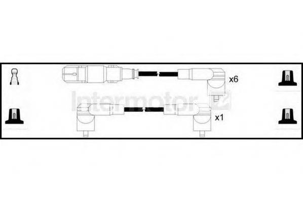 STANDARD 73656 Комплект проводов зажигания