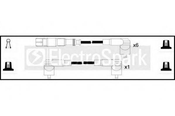 STANDARD OEK749 Комплект проводов зажигания