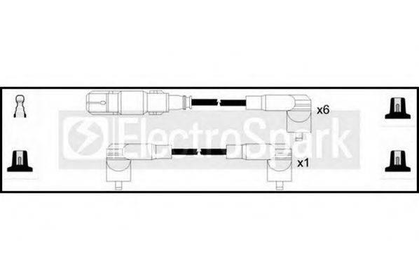 STANDARD OEK411 Комплект проводов зажигания