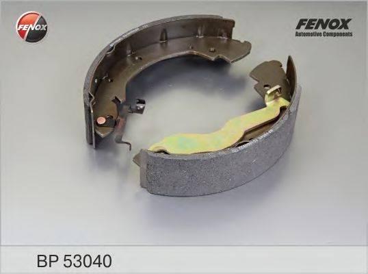 FENOX BP53040 Тормозные колодки барабанные