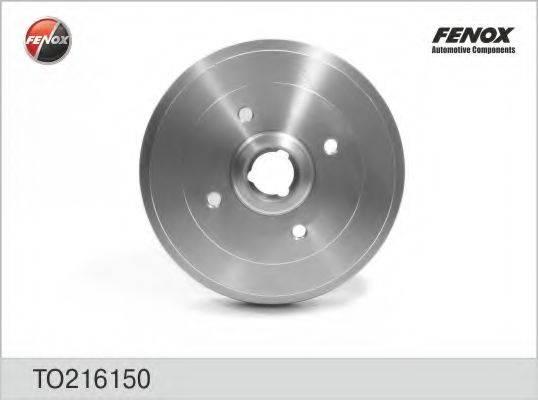 FENOX TO216150 Тормозной барабан