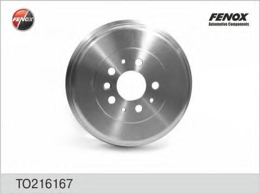 FENOX TO216167 Тормозной барабан