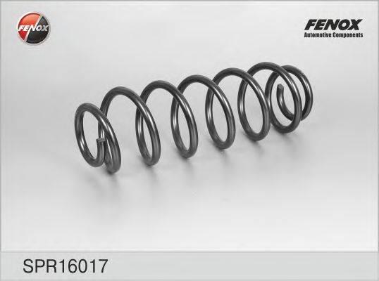 FENOX SPR16017 Пружина ходовой части