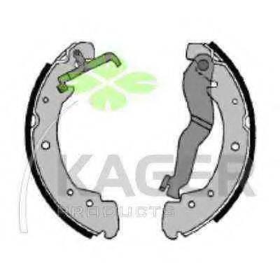 KAGER 340037 Тормозные колодки барабанные