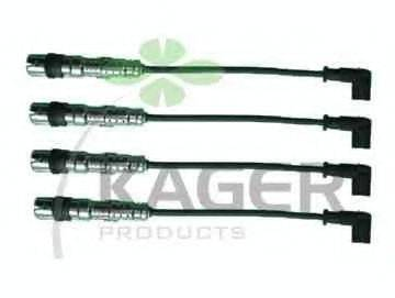KAGER 640063 Комплект проводов зажигания