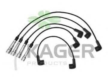 KAGER 640205 Комплект проводов зажигания