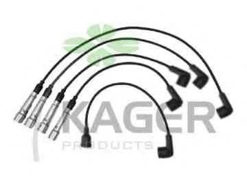 KAGER 640359 Комплект проводов зажигания
