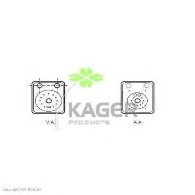 KAGER 313722 Масляный радиатор
