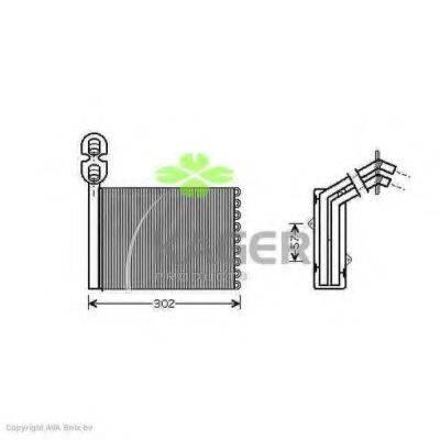 KAGER 320139 Радиатор печки
