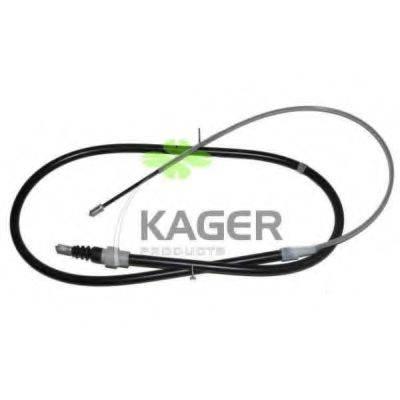 KAGER 190562 Трос, стояночная тормозная система