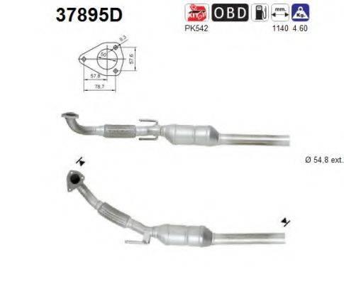 AS 37895D Конвертор- катализатор