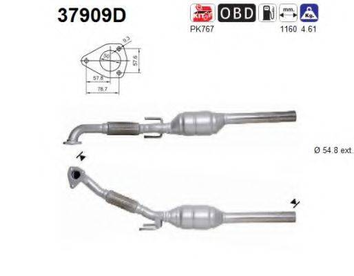 AS 37909D Конвертор- катализатор