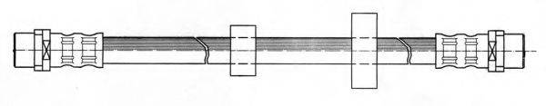 KAWE 511179 Тормозной шланг