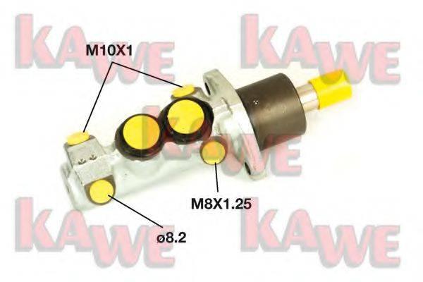 KAWE B1183 Главный тормозной цилиндр