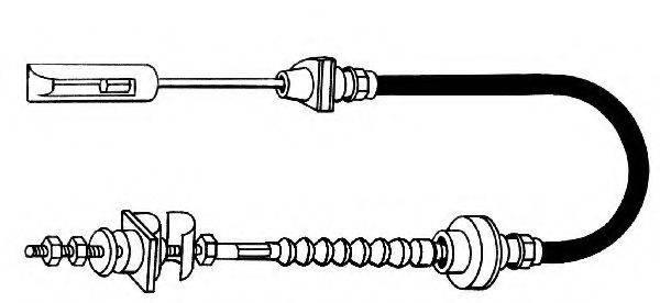 KAWE VW01152 Трос сцепления