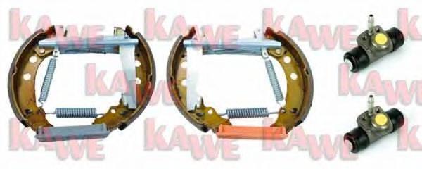 KAWE OEK123 Тормозные колодки барабанные