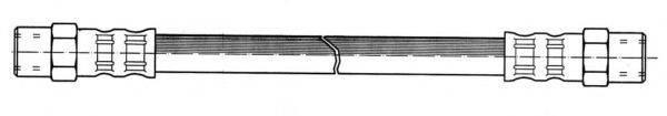 KAWE 510004 Тормозной шланг