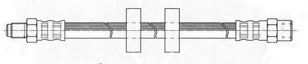 KAWE 510740 Тормозной шланг