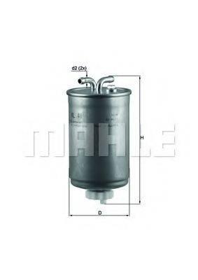 MAHLE ORIGINAL KL41 Топливный фильтр