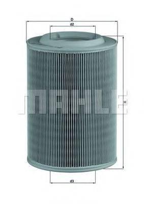 MAHLE ORIGINAL LX314 Воздушный фильтр