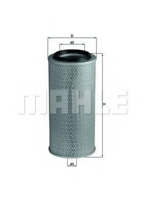 MAHLE ORIGINAL LX236 Воздушный фильтр