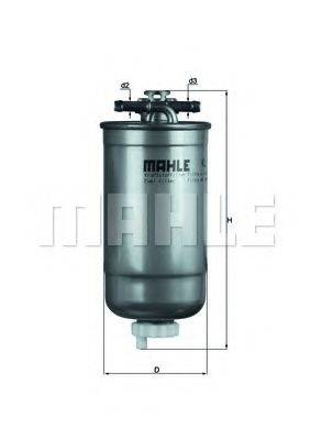 MAHLE ORIGINAL KL147D Топливный фильтр