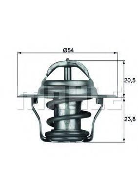 MAHLE ORIGINAL TX1487D Термостат