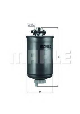 MAHLE ORIGINAL KL75 Топливный фильтр