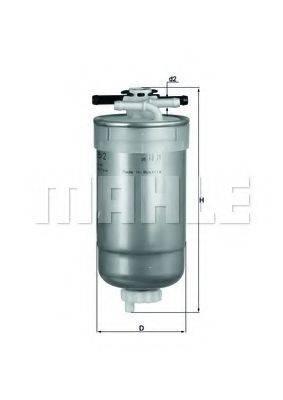 MAHLE ORIGINAL KL2332 Топливный фильтр