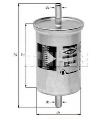 MAHLE ORIGINAL KL2 Топливный фильтр