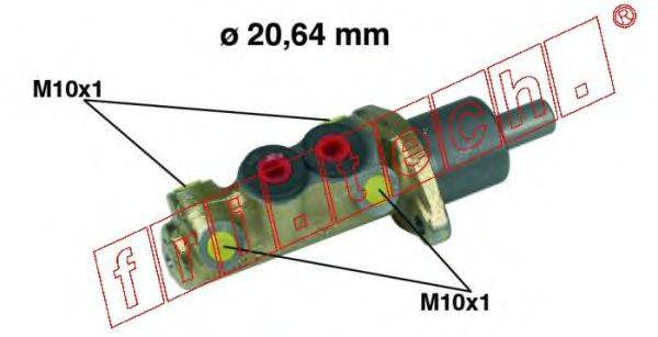 FRI.TECH. PF005 Главный тормозной цилиндр
