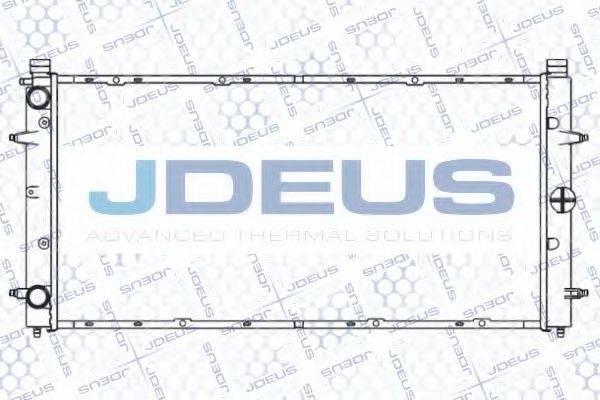 JDEUS 030B34 Радиатор охлаждения двигателя