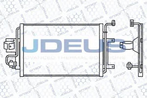 JDEUS 701M06 Конденсатор кондиционера