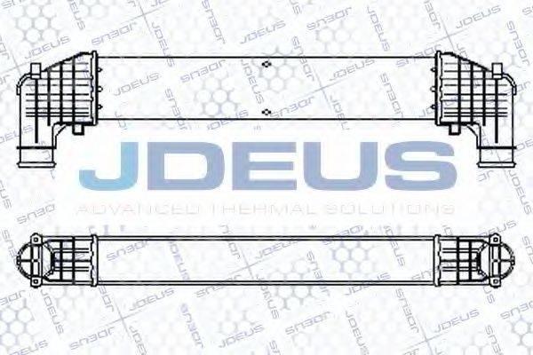 JDEUS 812M09 Интеркулер