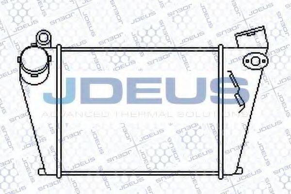 JDEUS 801M05 Интеркулер