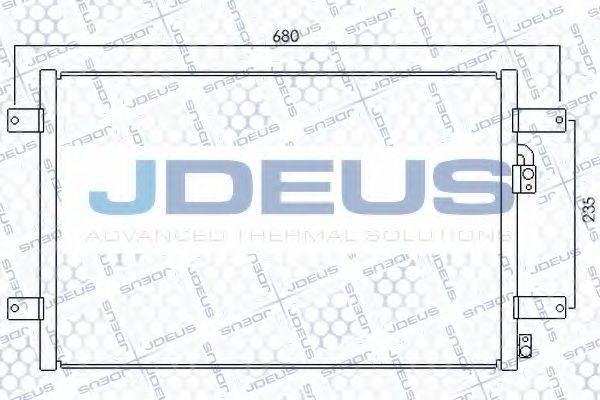 JDEUS 712M05 Конденсатор кондиционера