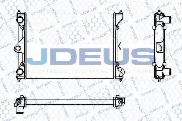 JDEUS RA0300171 Радиатор охлаждения двигателя